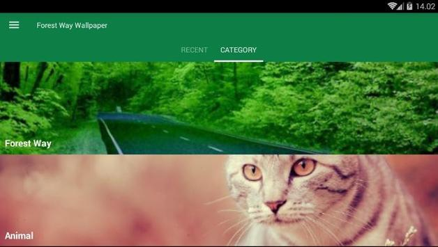 Forest Way Wallpaper screenshot 2