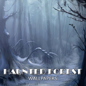 Haunted Forest Wallpaper icon