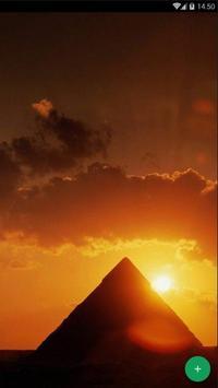Pyramid Desert Wallpaper screenshot 1