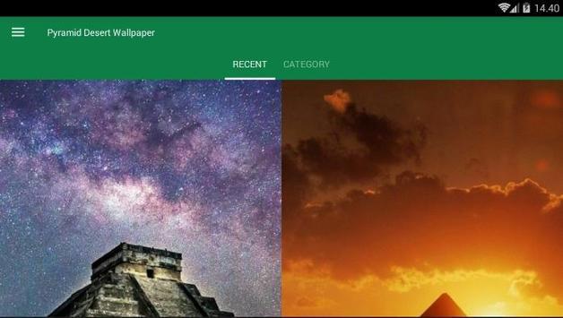 Pyramid Desert Wallpaper screenshot 3
