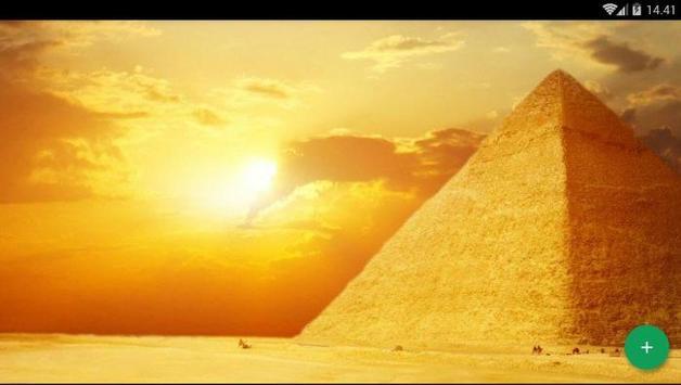 Pyramid Desert Wallpaper screenshot 4