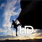 Rock Climbing HD Wallpaper icon