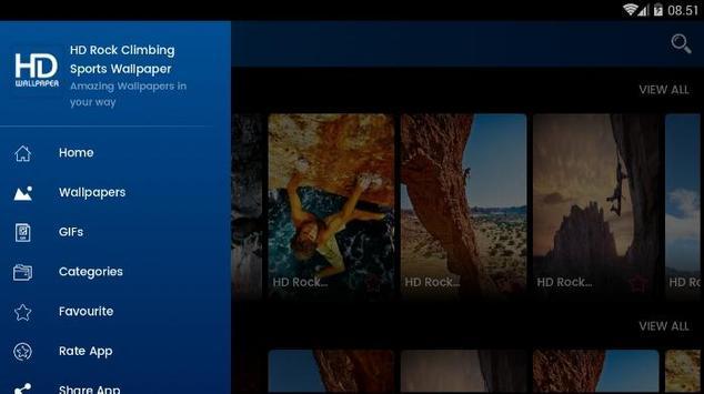 Rock Climbing HD Wallpaper screenshot 13
