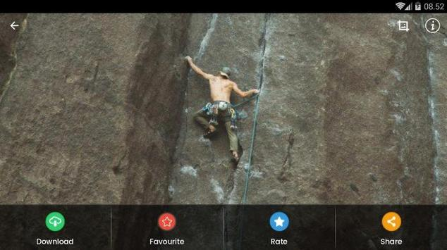 Rock Climbing HD Wallpaper screenshot 8