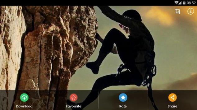 Rock Climbing HD Wallpaper screenshot 9