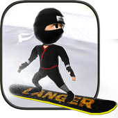 Real Snowboard Endless Runner icon