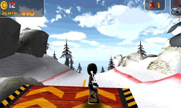 Real Snowboard Endless Runner screenshot 5