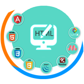 HTML Code Play icon