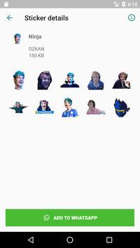 Twitch Stickers & Emotes (Ninja & Shroud) screenshot 1