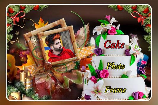 Cake Photo Frame screenshot 1
