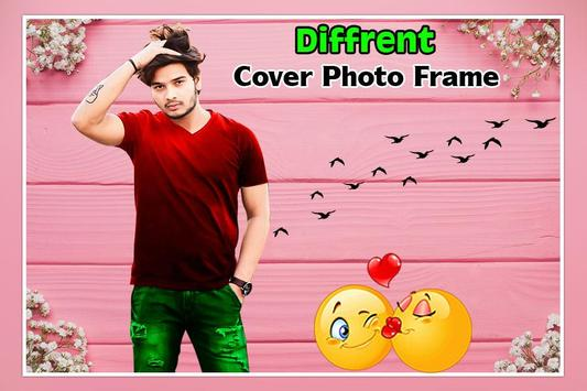 Different Cover Photo Frame screenshot 3