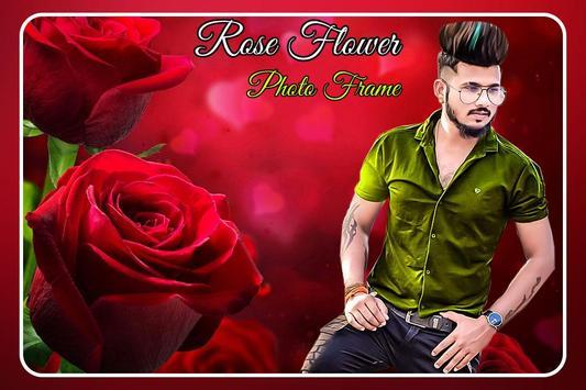 Rose Flower Photo Frame screenshot 7