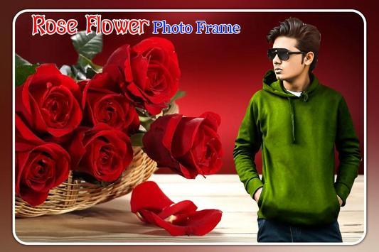 Rose Flower Photo Frame screenshot 1
