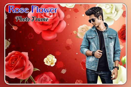 Rose Flower Photo Frame screenshot 2