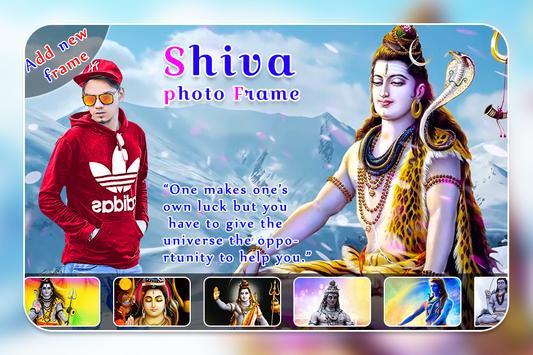 Shiva Photo Frame poster