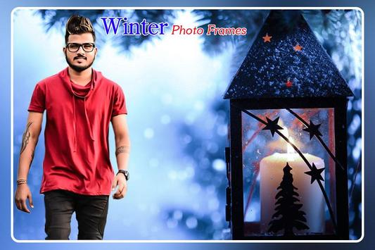 Winter Photo Frame poster