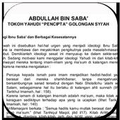 Abdulah Bin Saba Tokoh Yahudi Pencipta Agama Syiah icon
