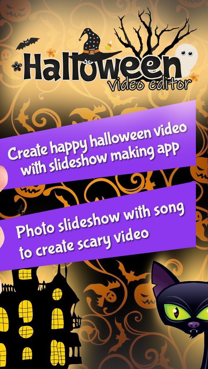 Halloween Video Editor Diashow Mit Musik Für Android Apk