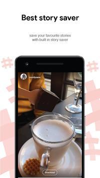 Hashto - Hashtags Captions Picsaver Repost Crop screenshot 7