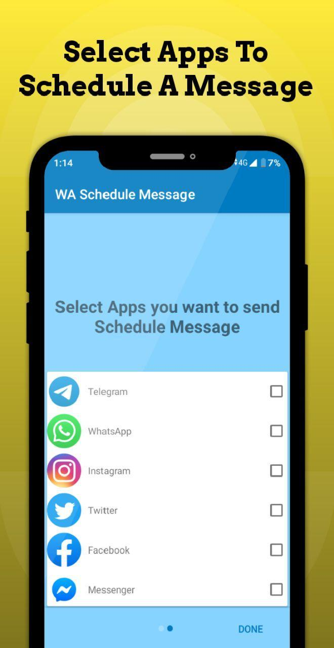 Wa Schedule Message For Android Apk Download