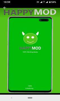 HappyMod - Happy apps 2020 poster