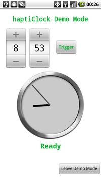 Haptic Clock (haptiClock) Free screenshot 1