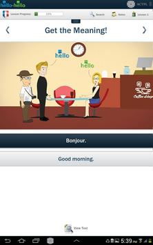 Learn French Hello-Hello poster