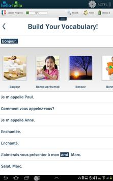 Learn French Hello-Hello screenshot 4