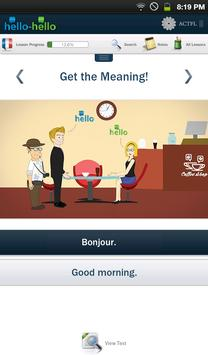 Learn French Hello-Hello screenshot 5