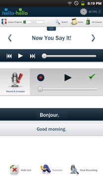 Learn French Hello-Hello screenshot 6