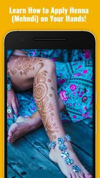 Henna Mehndi Art poster
