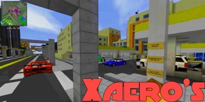 Xaeros Minimap Mod poster