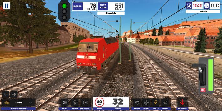 Euro Train Simulator 2-poster