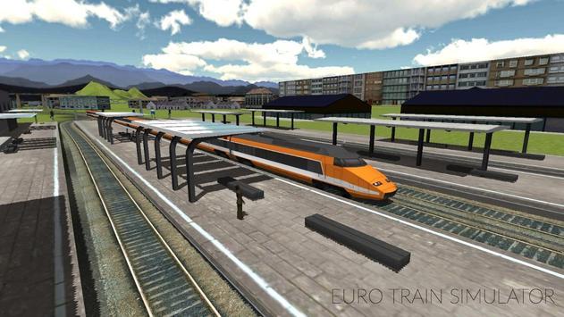 Euro Train Simulator Ekran Görüntüsü 2