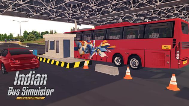 Indian Bus Simulator تصوير الشاشة 6