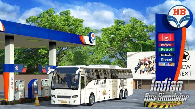 Indian Bus Simulator الملصق