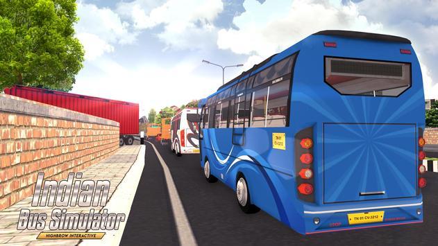 Indian Bus Simulator تصوير الشاشة 5