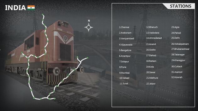 Indian Train Simulator स्क्रीनशॉट 2