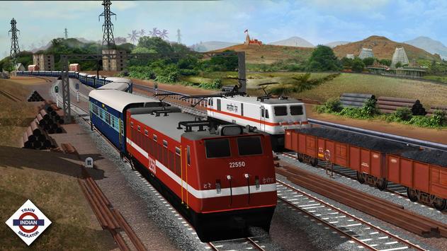 Indian Train Simulator स्क्रीनशॉट 3