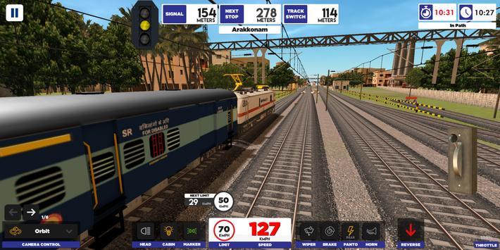 Indian Train Simulator screenshot 1