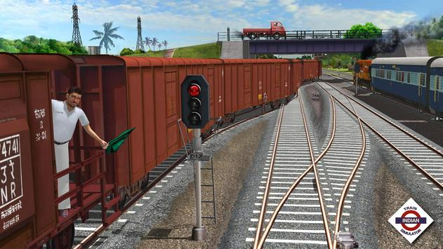 Indian Train Simulator स्क्रीनशॉट 4