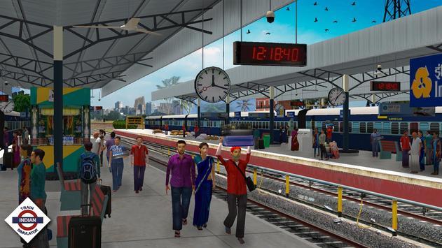 Indian Train Simulator स्क्रीनशॉट 1