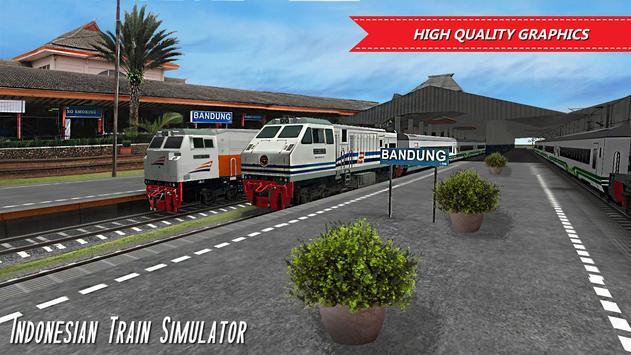 Indonesian Train Simulator Ekran Görüntüsü 1