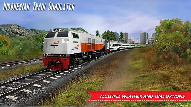 Indonesian Train Simulator Ekran Görüntüsü 2