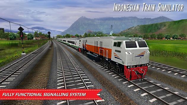 Indonesian Train Simulator Ekran Görüntüsü 3