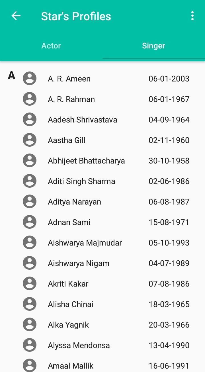 Krishnakumar Kunnath (K K) songs Lyrics for Android - APK