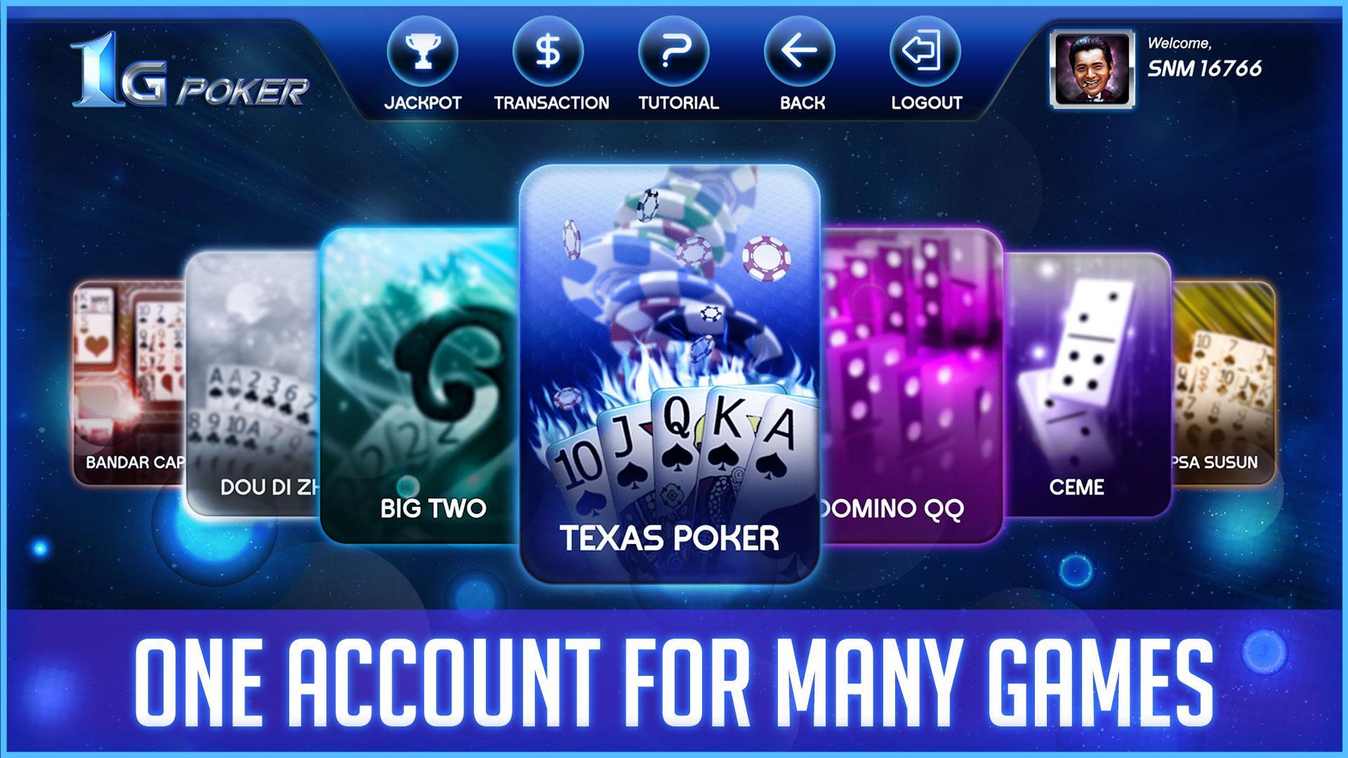 1 Gaming Poker & Domino Qiu Qiu, Ceme Online for Android - APK Download
