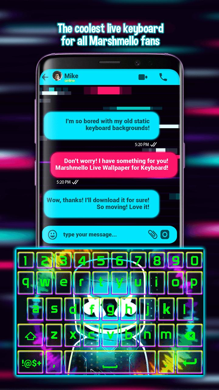 Marshmello Live Wallpaper For Keyboard For Android Apk Download