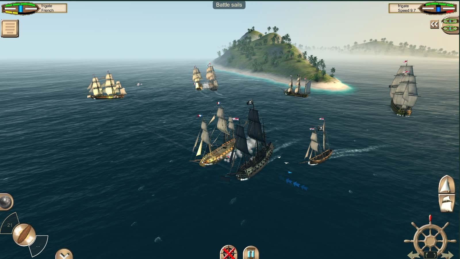 تحميل لعبة حرب سفن القراصنة The Pirate: Caribbean Sumber