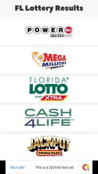 FL Lottery Results poster